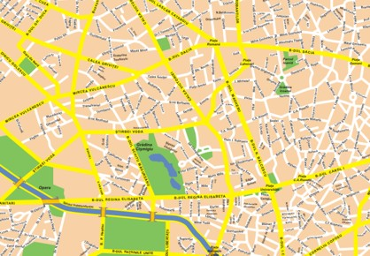 Images And Places Pictures And Info Bucharest Map