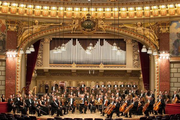 Concert de Anul Nou la Filarmonica