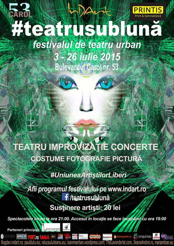 Festivalul de teatru urban - Teatrul InDArt