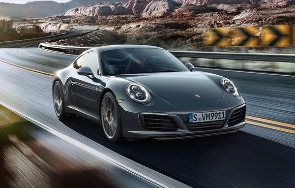 Un nou motor biturbo pentru Porsche 911 Carrera