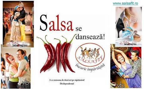 Salsafit - bucuria si pasiunea exprimate prin dans