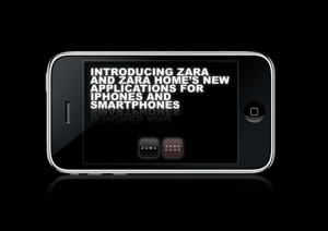 Zara si Zara Home au creat aplicatii pentru telefoane mobile