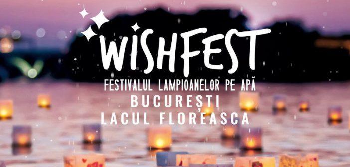 WishFest, primul festival dedicat lampioanelor pe apa, intre 14 – 15 septembrie, in Bucuresti