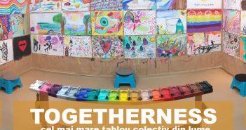 Togetherness – cel mai mare tablou colectiv din lume la Acuarela